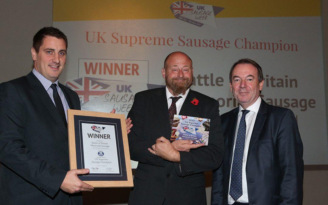 UK Supreme Sausage Champion – J C Rook & Sons Ltd