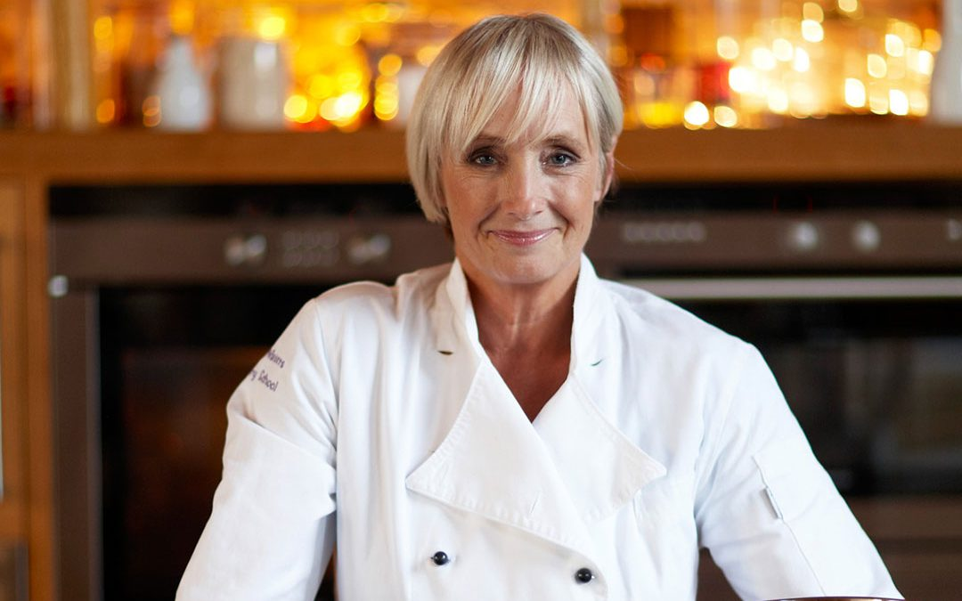 Celebrity chef, Lesley Waters