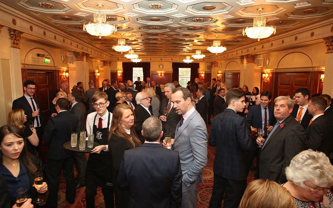 The UK Sausage Week drinks reception