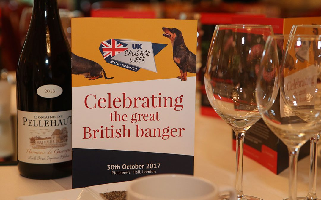 The tables are set for UK Sausage Week