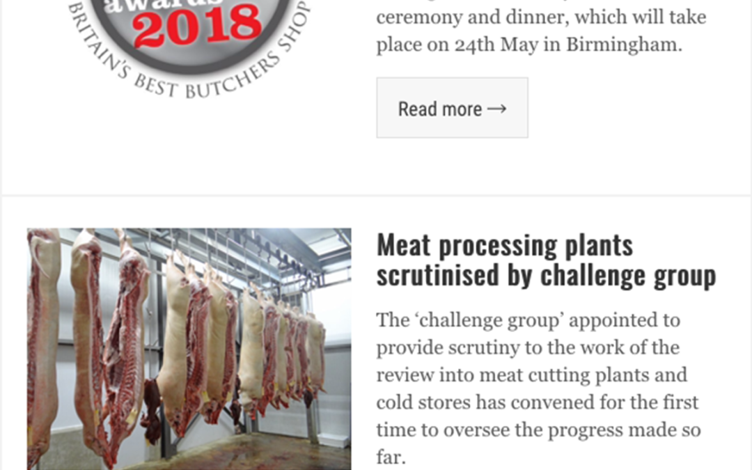 Top Banner on the e-newsletter