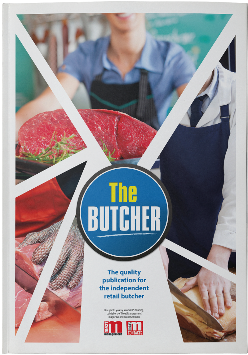 The Butcher front cover